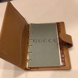 Vintage GUCCI address book